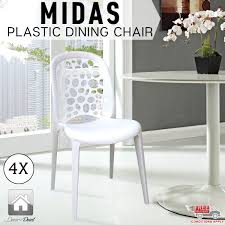White Plastic Dining Chair Kitchen Chair Most The Creative White Plastic Dining Chairs
