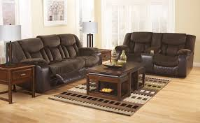 tafton brown reclining living room the furniture depots