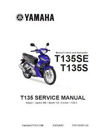buku manual motor buku manual yamaha jupiter mx