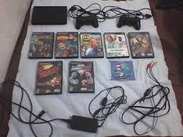 imagenes de juegos originales de ps2 vendo playstation 2 slim 8 juegos originales y dos controles en