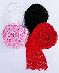 crochet bands 2 75 crochet tutu bands elastic stretchy waistband headband
