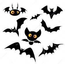 halloween bat clip art illustration u2014 stock vector lateci 53765049