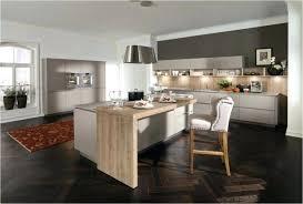 ilot central cuisine avec table cuisine ouverte avec table