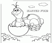 olaf sven fight cupcake colouring coloring pages