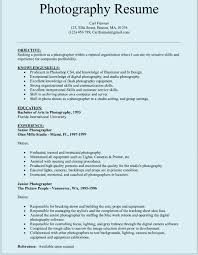 resume template for free photographer resume template 10 photographer resume templates free