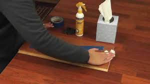 Removing Scratches From Laminate Flooring Cal Flor Scratchaway Floor Scratch Hider Youtube