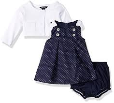 baby clothes baby woven dress with cardigan