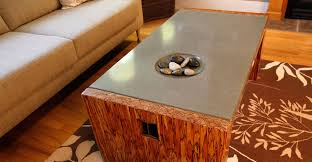 concrete and wood coffee table concrete coffee table by sticks stones concrete exchange