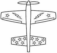 santa airplane coloring wecoloringpage planes pages pdf