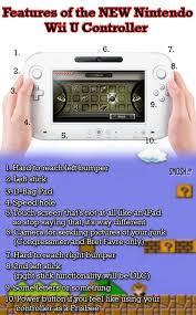 Wii U Meme - features of the new nintendo wii u controller chart smosh