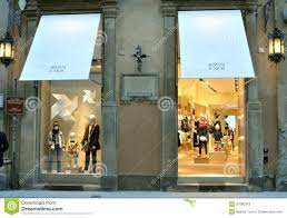 shop italy armani fashion shop in italy editorial stock photo image