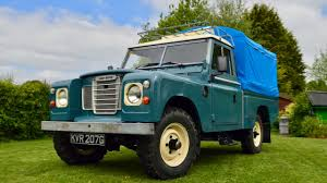 land rover series 3 british classic land rover series 3 109 campervan youtube