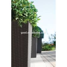 new products outdoor rattan wicker patio garden planter pot large