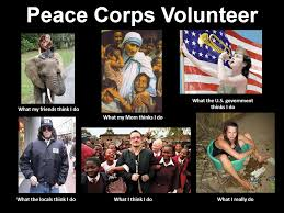 Volunteer Meme - our peace corps journey the returned peace corps volunteer
