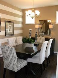 ten inspirational dining room decor ideas designwud dining room decor ideas with a striped painted