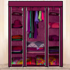 aliexpress com buy bedroom simple folding cabinet portable aliexpress com buy bedroom simple folding cabinet portable wardrobe hanging fabric wardrobes closet clothes storage organizer from reliable clothes metal