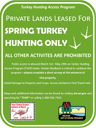 Wisconsin Public Hunting Land Map by New Land Owner Incentives Program For Spring Turkey Hunting 9 29