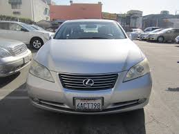 lexus sedan 2007 2007 lexus es 350 for sale in los angeles california 90006