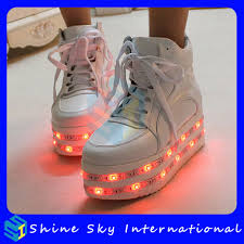 ladies light up shoes high quality women s fashion multi colors led strips rechargeable