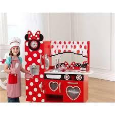 Kidkraft Kitchen Red - kidkraft disney jr minnie mouse vintage kitchen set chef set