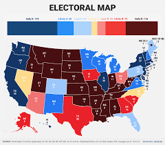 Electoral Votes Per State Map by How Donald Trump Wins The Election Business Insider