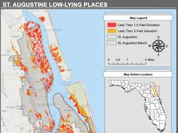 St Augustine Map Sea Level Rise A Looming Threat The Gargoyle
