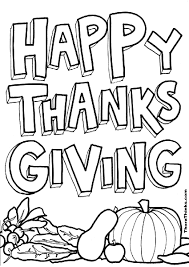 happy thanksgiving coloring page happy thanksgiving banner coloring pages best images collections