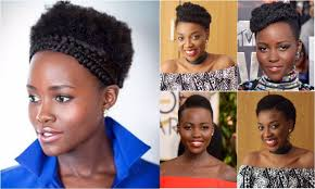 hairstyles short afro hair 3 shades of lupita hairstyles for short afro kinky hair kim dave
