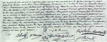 acte mariage napoléon actes privés napoléonprisonnier