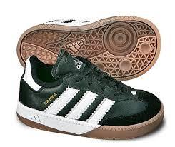 kids sambas adidas samba millenium infant soccer shoe black white
