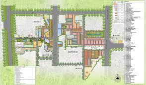 Map Central Park Central Park 3 Flower Valley Flamingo Independent Floors Sector 32