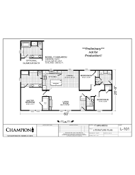 Champion Manufactured Home Floor Plans by Printable Floor Plans For Furniture Floor Home Plans Picture
