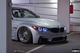 bmw m3 stanced air lifted bmw m3 sedan on forged vossen lc106t u2014 carid com gallery