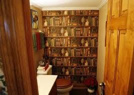 wallpaper that looks like bookshelves bookshelf black brown wall mural photo wallpaper