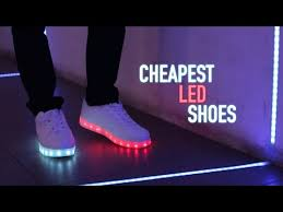 led lights shoes nike how to buy cheap led light up shoes youtube