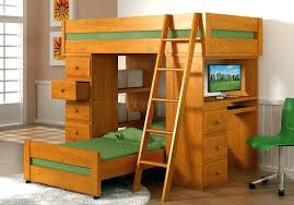 Diy Loft Bed With Desk Bunk Bed With Desk Bedroom Loft Bed With Desk Floral Carpet
