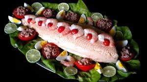 cuisiner un saumon entier saumon en bellevue recette par mimm