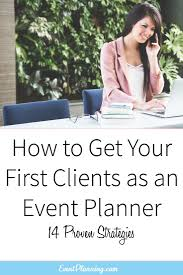 how to be a party planner best 25 event planning business ideas on event