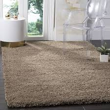 how big should my area rug be amazon com safavieh california shag collection sg151 2424 taupe