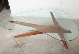 Vintage Glass Top Coffee Table Coffee Table Kidney Shaped Coffee Table With Glass Top Antique