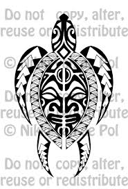 polynesian inspired turtle tattoo commission by nikki vdp on