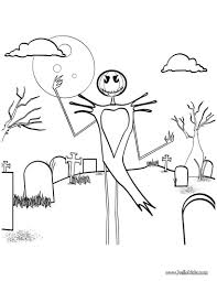 Color Pages Halloween by Happy Halloween Scarecrow Coloring Pages Hellokids Com