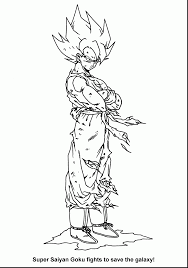 outstanding dragon ball coloring pages dbz coloring pages