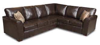 Bentley Sectional Sofa Bentley Bonded Leather Modern Sectional Sofa W Options