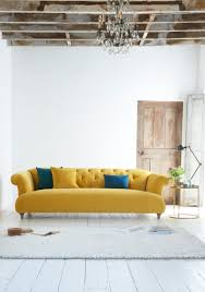 Chesterfield Sofa In Living Room by Loaf U0027s Deep Buttoned Dixie Chesterfield Sofa In A Bright And Sunny