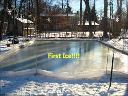 building an ice rink outdoors outdoor furniture design and ideas