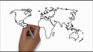 Cartoon World Map by World Map In Full Hd Youtube