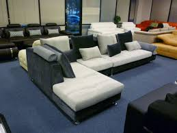 white suede microfiber couch u2014 new lighting several warning