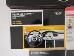 2004 mini cooper cooper s owners manual guide book ebay