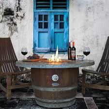 Wine Barrel Fire Pit Table by Stylish Wine Barrel Fire Pit Table Kit4en Wine Barrel Fire Pit